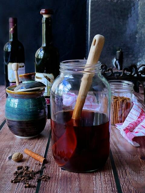 Mulsum - vin sucré et épicé
