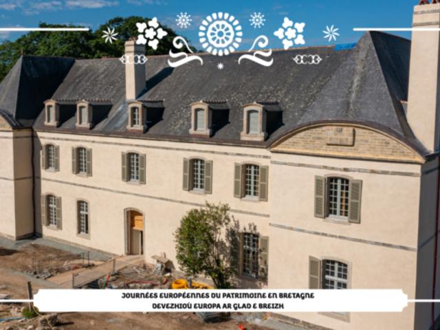 Portes-ouvertes du château de Kerampuilh à Carhaix organisées par la Région Bretagne (crédits Fly HD)