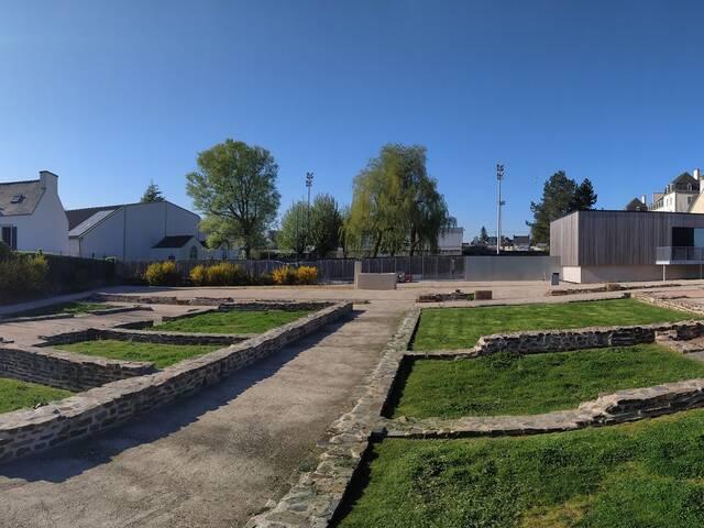 Vacances d'avril : laissez-vous conter l'Armorique antique dans le jardin de Vorgium