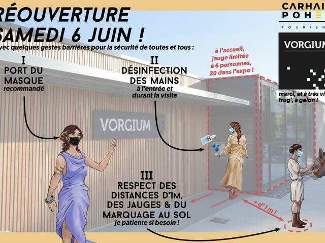 Réouverture de Vorgium à Carhaix le samedi 6 mai