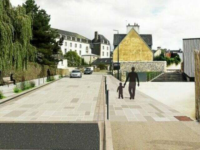 Projet du cabinet d'architecture Madec pour le rue du docteur Menguy (cabinet Madec)
